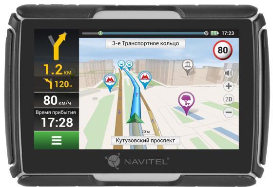 Навигатор Navitel G550 4.3 480x272 4GB microSD черный + Navitel