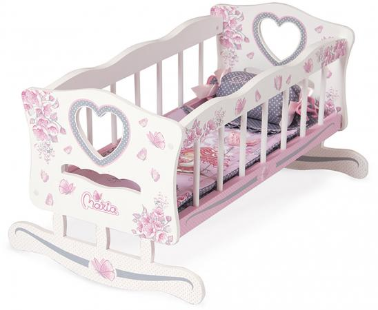 Кроватка-качалка для куклы DeCuevas  серии Мария 54117