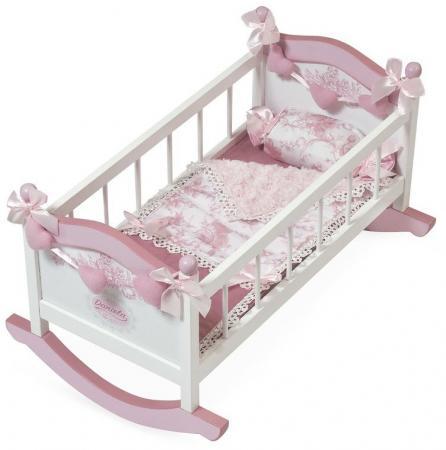 Кроватка-качалка для куклы DeCuevas серии Даниэла, 56 см 54521