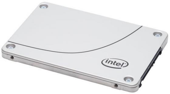 Твердотельный накопитель SSD 2.5 480Gb Intel S4600 Read 500Mb/s Write 480Mb/s SATAIII SSDSC2KG480G701 956904 накопитель ssd intel ssdsc2kw480h6x1 480gb ssdsc2kw480h6x1
