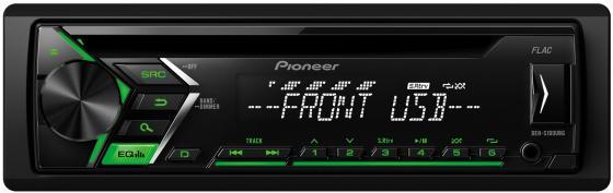 Автомагнитола Pioneer DEH-S100UBG USB MP3 CD FM 1DIN 4x50Вт черный автомагнитола kenwood kdc 151ry usb mp3 cd fm 1din 4х50вт черный