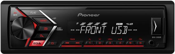 Автомагнитола Pioneer MVH-S100UB USB MP3 FM RDS 1DIN 4x50Вт черный автомагнитола kenwood kmm 103ry usb mp3 fm rds 1din 4х50вт черный