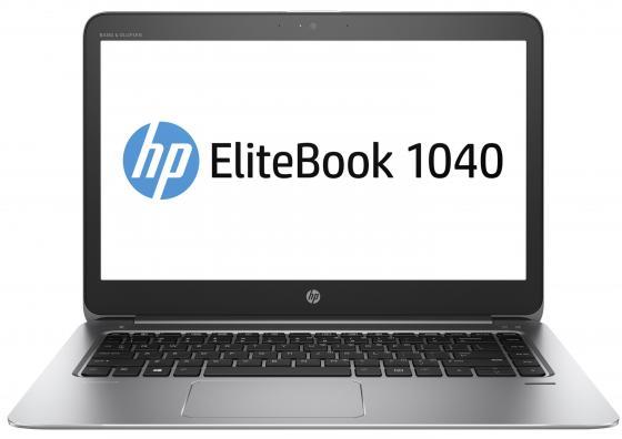 Ноутбук HP EliteBook 1040 G3 14 1920x1080 Intel Core i5-6200U 256 Gb 8Gb Intel HD Graphics 520 серебристый Windows 10 Professional ноутбук hp elitebook 820 g4 12 5 1920x1080 intel core i7 7500u ssd 256 8gb intel hd graphics 620 серебристый windows 10 professional z2v73ea