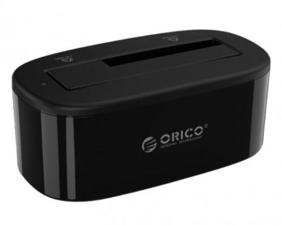 Док станция для HDD 2.5/3.5 SATA Orico 6218EU3 / 6218US3-PRO-US-BK USB3.0 черный 1pcs serial ata sata 4 pin ide to 2 of 15 hdd power adapter cable hot worldwide
