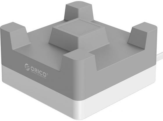 Фото - Сетевое зарядное устройство Orico CHA-4U-EU-GY 2.4А 4 x USB серый видеофильмы