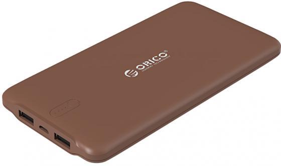 Портативное зарядное устройство Orico LD100 (коричневый) кабели orico кабель microusb orico adc 10
