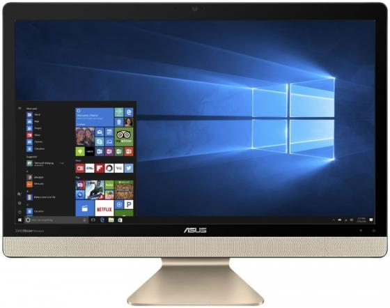 Моноблок 21.5 ASUS V221IDUK-BA038D 1920 x 1080 Intel Pentium-J4205 4Gb 500 Gb Intel HD Graphics 505 DOS черный 90PT01Q1-M03370 моноблок asus v221iduk ba025t intel j4205 4gb 500gb 21 5 fullhd kb m win10 black