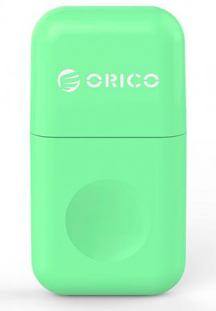 Картридер внешний Orico CRS12 USB3.0 microSD зеленый orico crs12 orange картридер