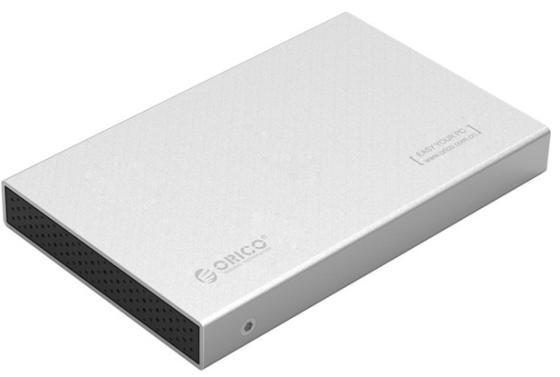 Внешний контейнер для HDD 2.5 SATA Orico 2518S3 USB3.0 серебристый 1pcs serial ata sata 4 pin ide to 2 of 15 hdd power adapter cable hot worldwide