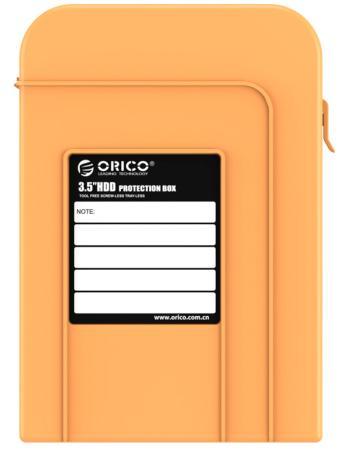 Чехол для HDD 3.5 Orico PHI-35 оранжевый аксессуар чехол orico phi 35 or orange