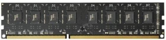 Оперативная память 8Gb PC3-12800 1600MHz DDR3 DIMM TEAM TED38G1600C1101 оперативная память 8gb pc3 12800 1600mhz ddr3 dimm corsair vengeance 10 10 10 27 cmz8gx3m1a1600c10