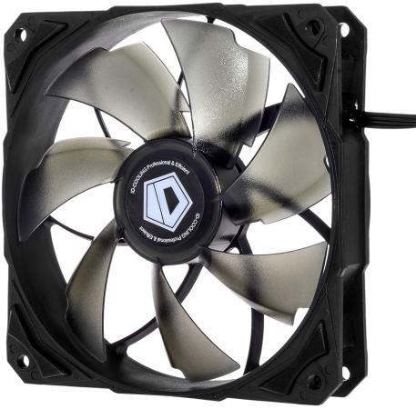 Вентилятор ID-Cooling NO-12025-SD 120x120x25mm 1600rpm вентилятор id cooling no 4010 sd 3pin molex 40 40 10 мм 4500об мин 12vdc