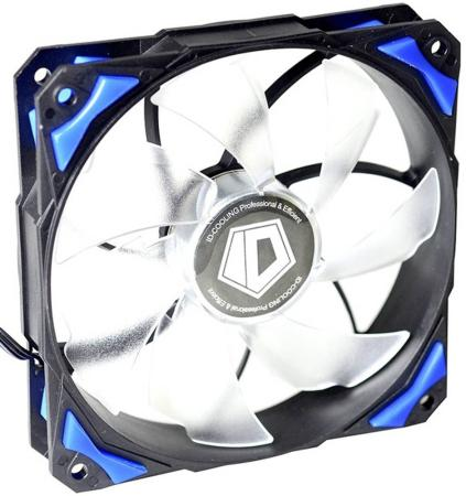 Вентилятор ID-Cooling PL-12025-B 120x120x25mm 600-2200rpm original sunon 12025 12cm 220v dp201at 2122hbl gn 120 long wide 25 thick double ball cooling fan