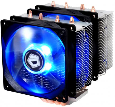 Кулер для процессора ID-Cooling SE-904TWIN Socket 1150/1151/1155/1156/2066/2011/2011-3/AM2/AM2+/AM3/AM3+/FM1/FM2/FM2+ кулер для процессора aerocool verkho 2 s775 1150 1151 1155 1156 am2 am2 am3 am3 fm1 fm2 fm2