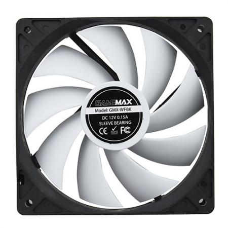 Вентилятор GameMax GMX-WFBK 120x120x25mm 1200rpm