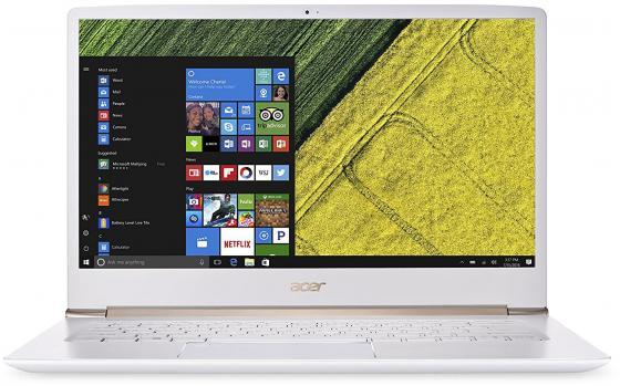 "Ультрабук Acer Swift 5 SF514-51-75AC Core i7 7500U/8Gb/SSD256Gb/Intel HD Graphics 520/14""/IPS/FHD (1920x1080)/Linux/white/WiFi/BT/Cam/3315mAh"