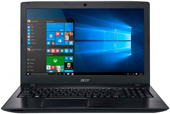Ноутбук Acer Aspire E5-575G-31ZB 15.6 1920x1080 Intel Core i3-6006U 1 Tb 128 Gb 6Gb nVidia GeForce GT 940MX 2048 Мб черный Windows 10 Home NX.GDWER.097