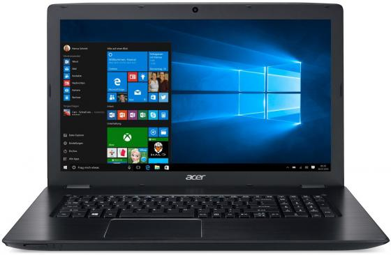 "Ноутбук Acer Aspire E5-774G-53AF 17.3"" 1920x1080 Intel Core i5-7200U 1 Tb 6Gb nVidia GeForce GT 940MX 2048 Мб черный Windows 10 Home NX.GG7ER.025"