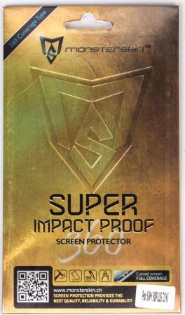 Пленка защитная MonsterSkin Super Impact Proof 360 для Samsung Galaxy S8+ противоударная суперпрочная защитная пленка monsterskin super impact proof для apple iphone 7 plus