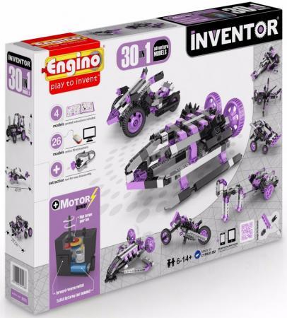 купить Конструктор ENGINO Inventor - Приключения 170 элементов 30 моделей с мотором 3031 недорого