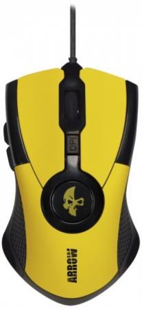 Мышь проводная Jet.A Arrow JA-GH35 жёлтый USB все цены