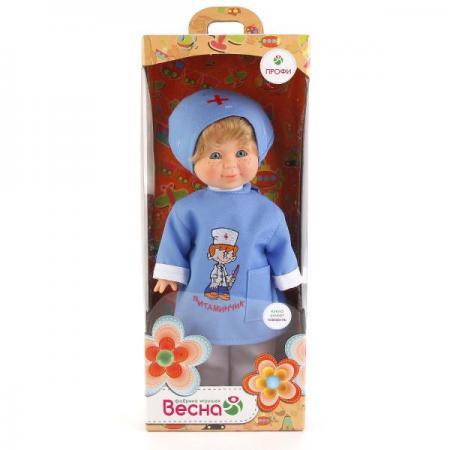 Кукла ВЕСНА Митя - Доктор 34 см говорящая В1628/о кукла алла весна