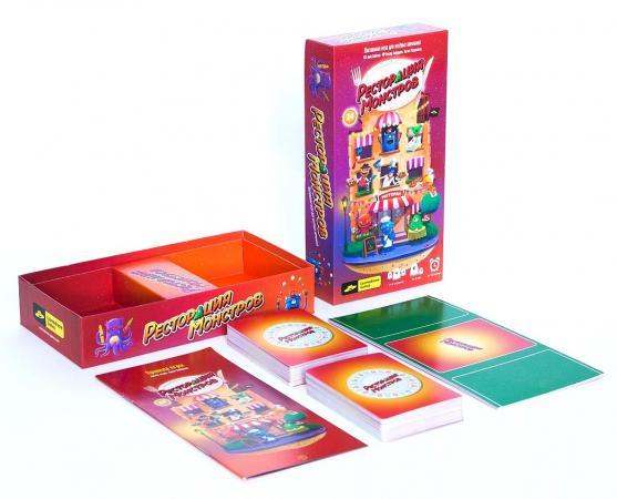 Настольная игра семейная Cosmodrome games Ресторация монстров 52018 cosmodrome games настольная игра базинга