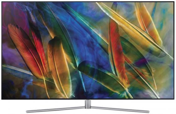 Телевизор SAMSUNG (QE49Q7FAMUXRU) 49''/ QLED/ 7 Series/ Ultra HD (3840x2160)/ Ultra Black Panel/ PQI 3100/ Supreme UHD Dimming/ Precision Black Pro/ SMART TV/ Voice Interaction/ Wi-Fi/ TV-tuner (DVB-T2/C/S2)/ 4xHDMI/ 3xUSB/ Silver