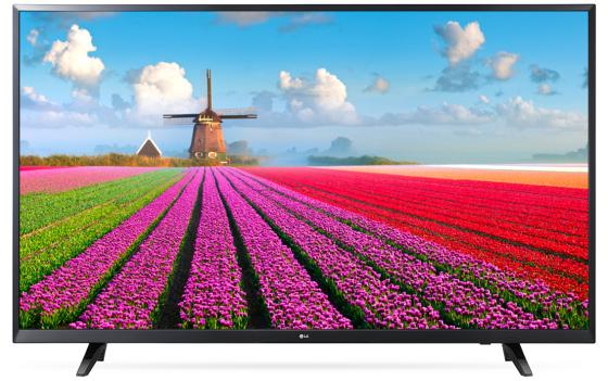 Телевизор 49 LG 49LJ540V черный 1920x1080 50 Гц Smart TV Wi-Fi USB RJ-45 S/PDIF WiDi телевизор 32 tcl led32d2930 черный 1366x768 60 гц wi fi smart tv usb vga s pdif rj 45