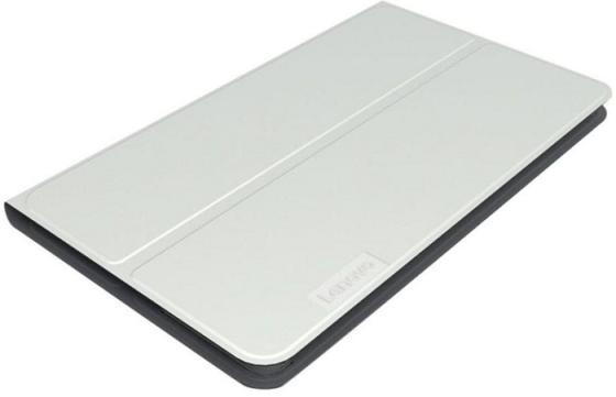 Чехол Lenovo Tab 4 TB-8504X/TB-8504F HD Folio Case and Film полиуретан/пластик серый ZG38C01737 цена и фото