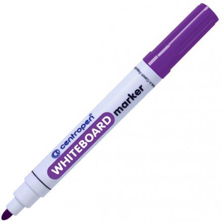 Маркер для доски Centropen 8559/1Ф 2.5 мм фиолетовый маркер для доски centropen 8569 1ч 4 6 мм черный