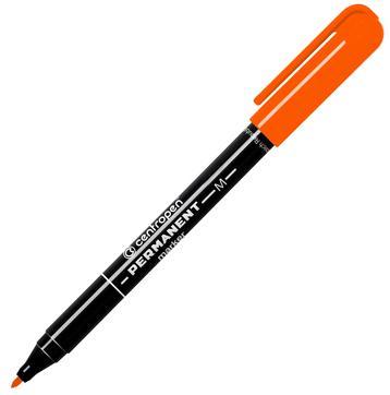 Маркер перманентный Centropen 2846/1О 1 мм оранжевый маркер флуоресцентный centropen 8722 1о оранжевый