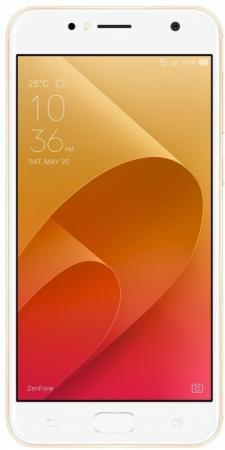 Смартфон ASUS ZenFone 4 Live ZB553KL золотистый 5.5 16 Гб LTE Wi-Fi GPS 3G 90AX00L2-M01100 смартфон archos sense 50 dc золотистый 5 16 гб lte wi fi gps 3g 503525