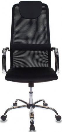 купить Кресло Бюрократ KB-9/BLACK черный TW-01 TW-11 сетка крестовина хром 492618 по цене 6290 рублей