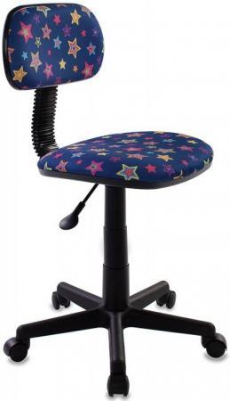 Кресло детское Бюрократ CH-201NX/STAR-BL синий звезды