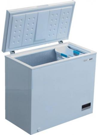 Морозильный ларь SHIVAKI CF-2501DW белый морозильный ларь бирюса б 260к