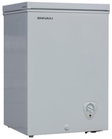 Морозильный ларь SHIVAKI CF-1001W белый морозильный ларь бирюса б 260к