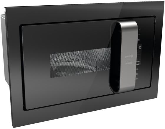 Встраиваемая микроволновая печь Gorenje BM235ORAB 900 Вт чёрный серебристый встраиваемая микроволновая печь gorenje bm201inb