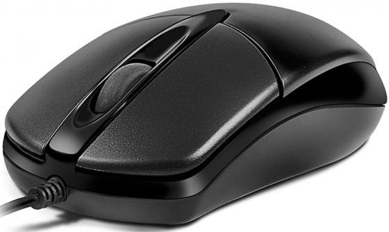 лучшая цена Мышь проводная Oklick 275M чёрный USB