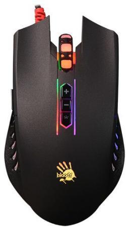 лучшая цена Мышь проводная A4TECH Bloody Q81 чёрный USB в ассортименте