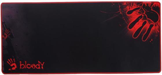 Коврик для мыши A4tech Bloody B-087S черный с рисунком