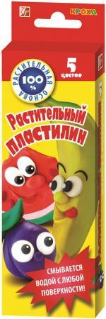 Пластилин ЛУЧ Кроха 5 цветов 25С1557-08 пластилин луч 12c 784 08 12с784 08 11 цветов