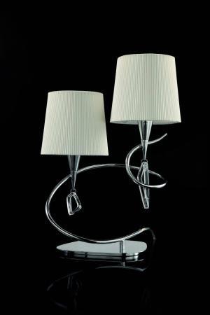 Настольная лампа Mantra Mara Chrome - White 1651 цены онлайн
