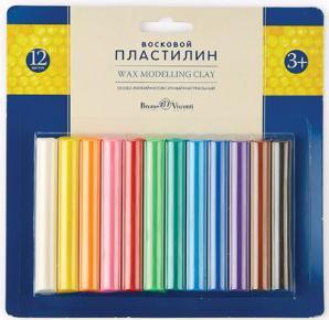 Пластилин Альт Multicolor 12 цветов 34-0012