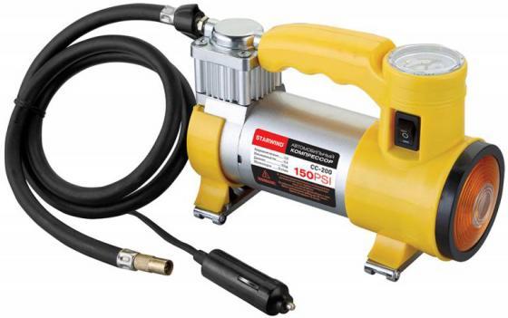 Автомобильный компрессор Starwind CC-200 автомобильный компрессор skyway буран 09 s02001011