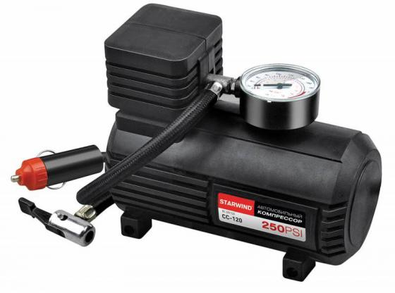 Автомобильный компрессор Starwind CC-120 автомобильный компрессор starwind cc 300