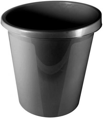 Корзина для бумаг СТАММ КР60 9л черная корзина для бумаг стамм кр01 18 черная
