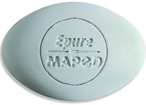 Ластик Maped EPURE, овальный, с заостренными краями