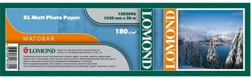 """Бумага Lomond 60"""" 1524мм-30м 180г/м2 белый матовое для струйной печати"""