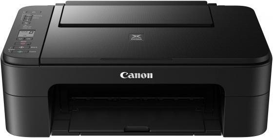МФУ Canon Pixma TS3140 цветное A4 7.7/4ppm 4800x1200 Wi-Fi USB черный 2226C007 принтер canon pixma g1410 цветное a4 8 8ppm 4800x1200 usb черный 2314c009